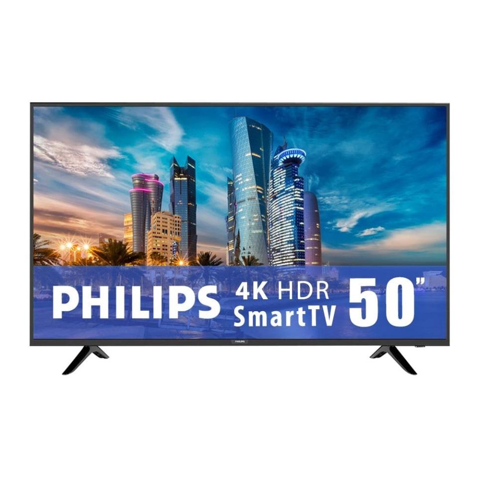 Walmart: TV Philips 50 Pulgadas 4K UHD Smart TV