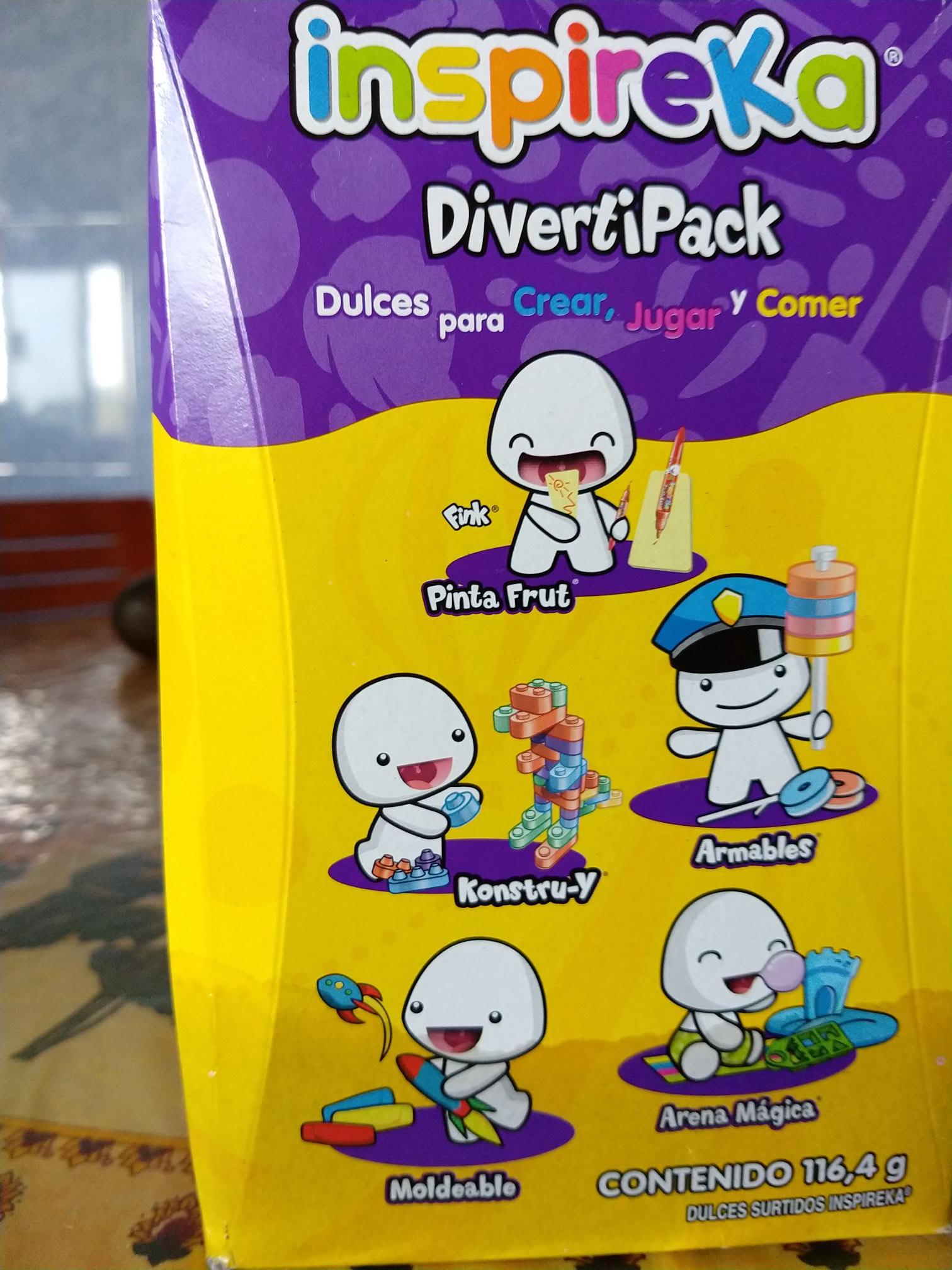 Superama Unidad Loreto Inspireka Diverti Pack en $9.80