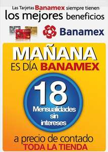 OfficeMax: día Banamex abril 25