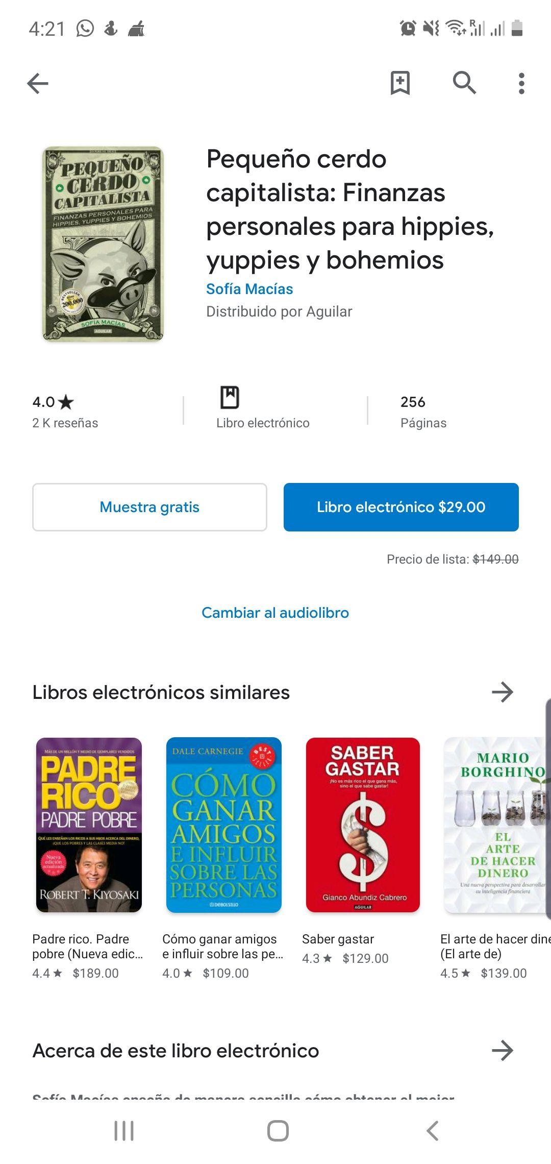Play Store: Pequeño cerdo capitalista (libro electrónico)