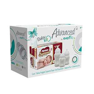 Amazon mx: oferta relampago, Advanced by Evenflo, Kit, Huggies Supreme E1, Biberón 9oz y 5oz,