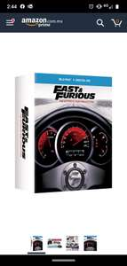 Amazon: Fast & Furious: The Ultimate Ride Collection [Blu-ray]