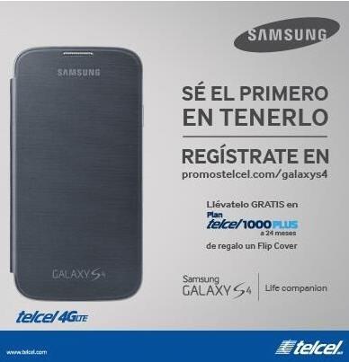 Venta especial de lanzamiento Samsung Galaxy S4 (extendida)
