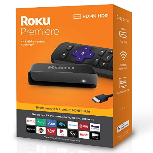 Amazon: Roku Premiere HD 4K HDR