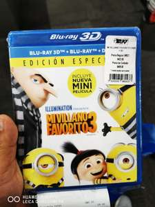 "Best Buy: Combo bluray 3d, bluray y DVD de ""Mi villano favorito 3"""