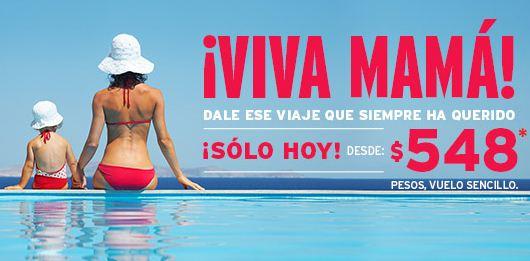Vivaaerobus: vuelos desde $548 del 1 al 8 de mayo