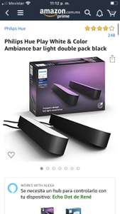 Amazon: Philips Hue Play Double Pack