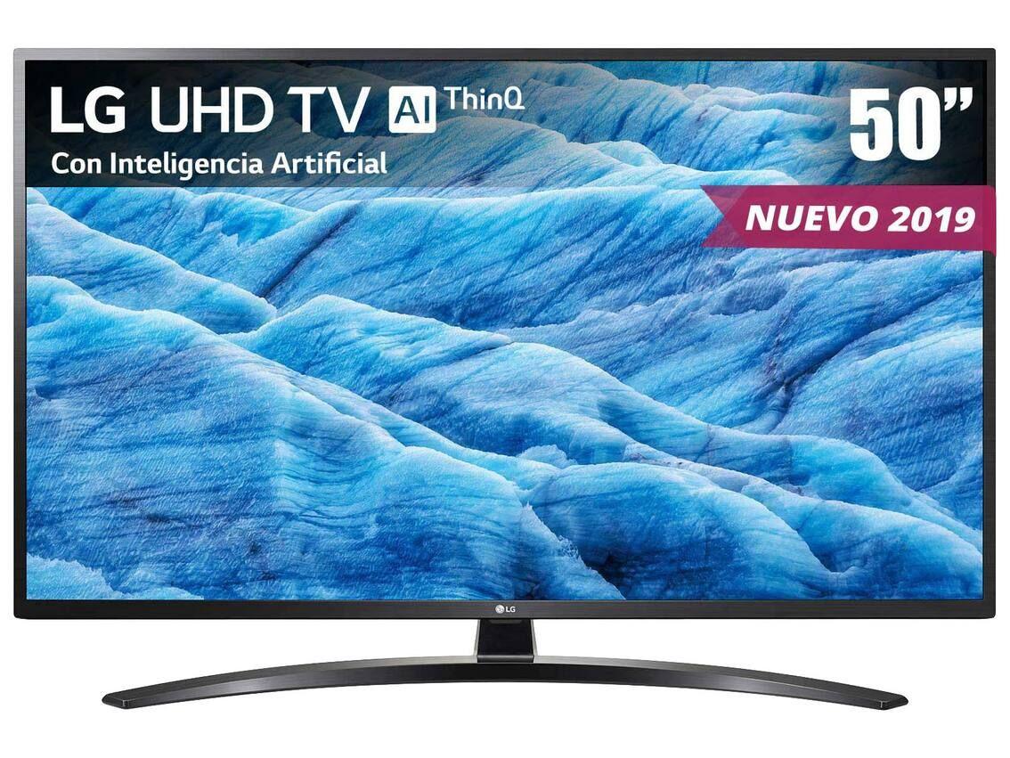 searsPantalla LG UHD TV AI ThinQ 4K 50 Pulgadas 50UM7400PUA. (De: $21,999 a $8,999.10)