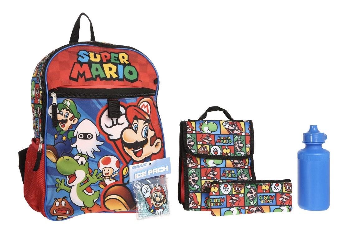 Liverpool Mochila Nintendo Mario Bros para Niño(a)