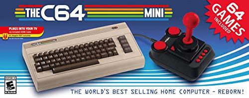 Amazon: C64 Mini USA - Standard Edition Commodore 64 con Amazon recargable (Vendida y Enviado por Amazon)