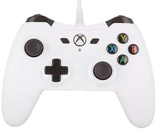 Amazon: AmazonBasics Control alambico Xbox One - Blanco