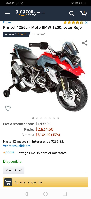 Amazon: moto Prinsel bmw