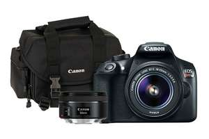 Tienda canon Kit T6 18-55 IS RFD + EF 50mm f/1.8 STM + Maleta 2400