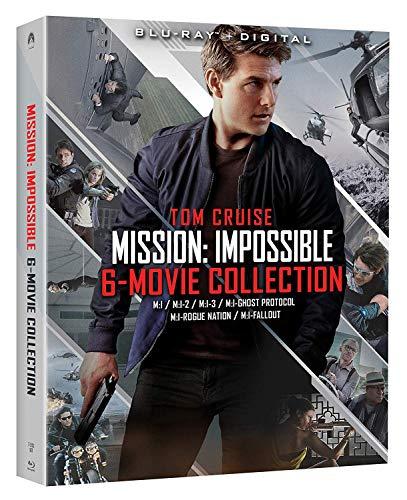 Amazon: Coleccion peliculas Mision imposible 1-6 Blu Ray