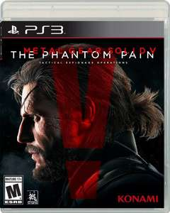 Amazon: Metal Gear Solid V: The Phantom Pain para PS3 a $273