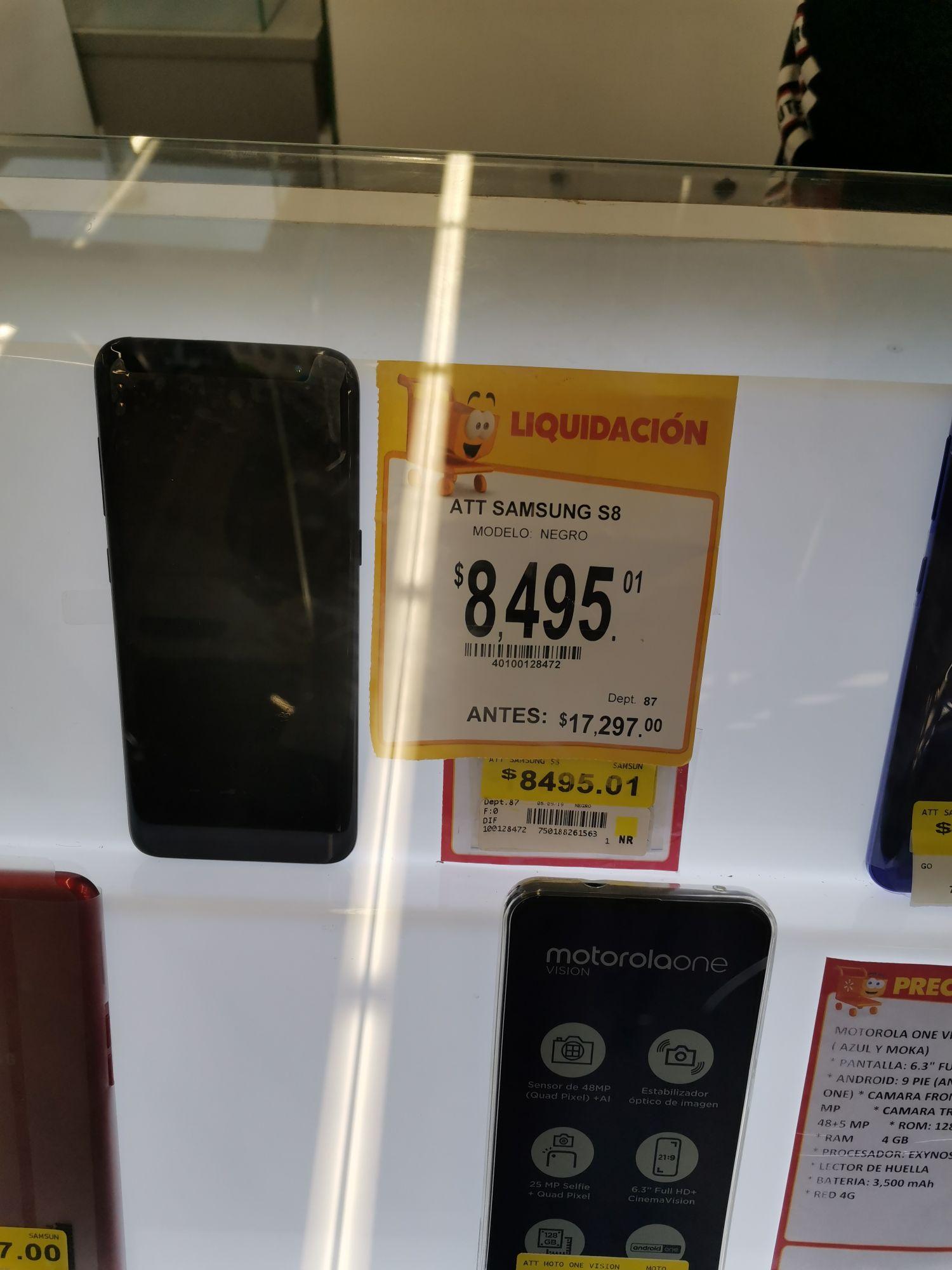Walmart: Samsung Galaxy S8 nuevo AT&T