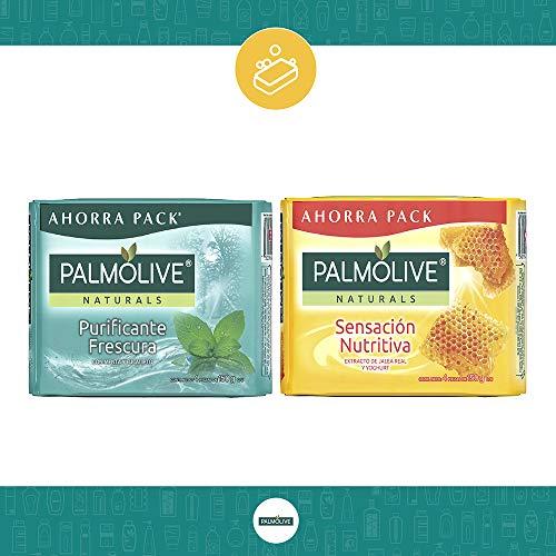 Amazon: Palmolive Pack Jabones, 2 Piezas Con 4 Jabones C/u, comprando 4