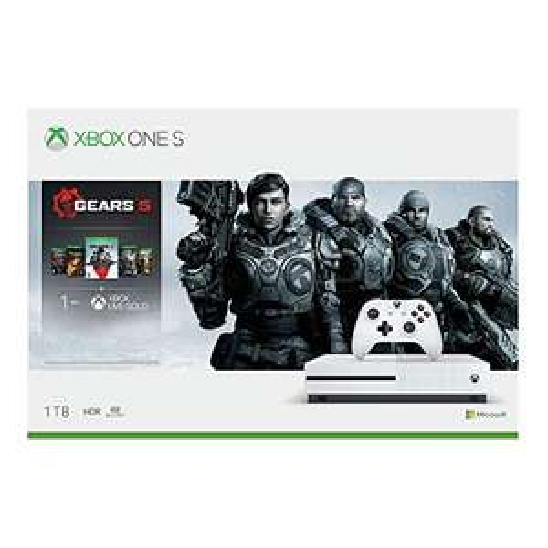 Amazon: Xbox One S 1tb Gears Of War 5 bundle o Forza 4 o Star Wars(Banorte y AMEX)
