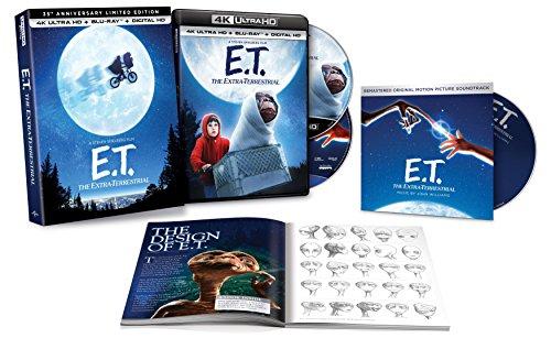 Amazon: E.T. El Extraterrestre Blu-ray 4k + Blu-ray + Digital