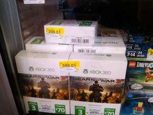 Walmart: Xbox Bundle Gears Of War 3 + live Gold + $70 de crédito