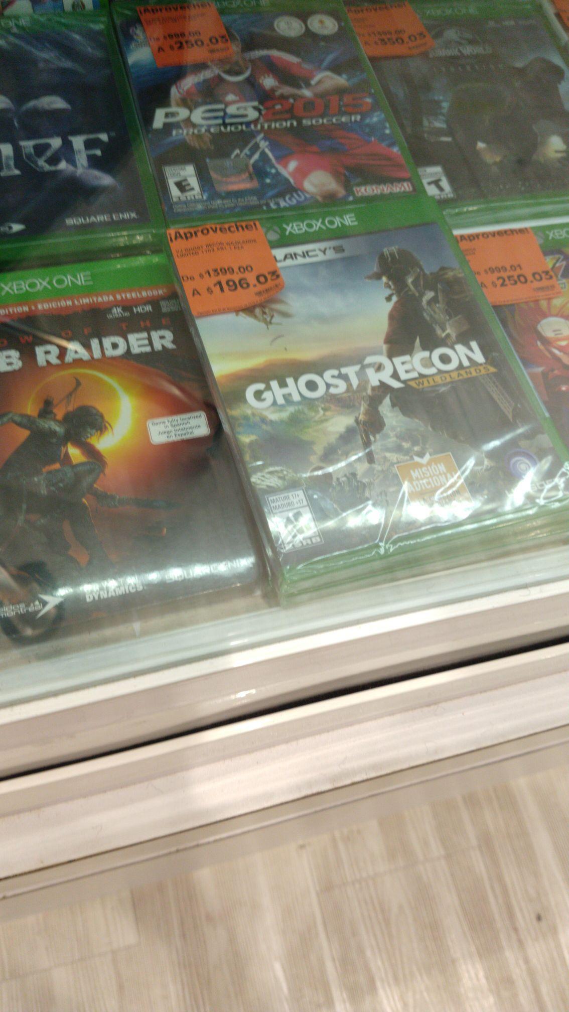 La Comer Querétaro Estadio: Ghost Recon Wild Lands para Xbox One