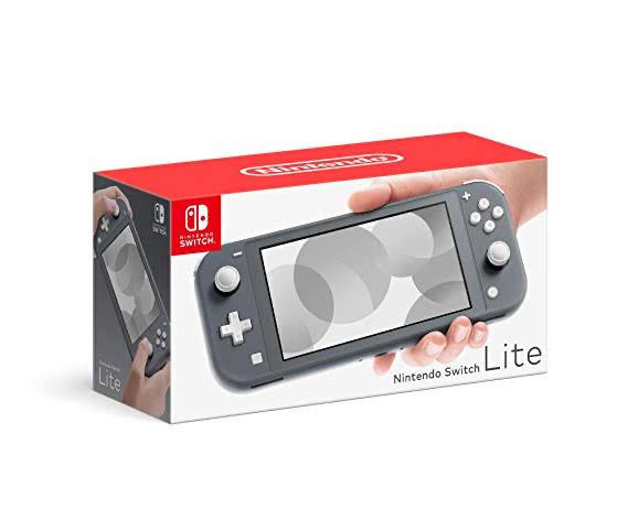 Amazon: Consola Nintendo Switch Lite (pagando con BBVA)
