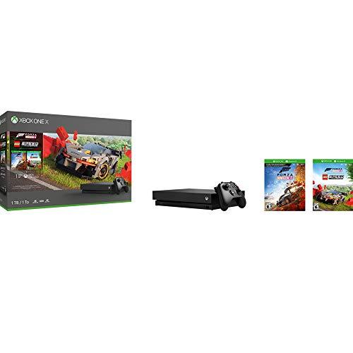 Amazon: Consola Xbox one X 1tb + Forza Horizon 4 y Lego DLC - Bundle Edition (pagando BBVA Wallet)