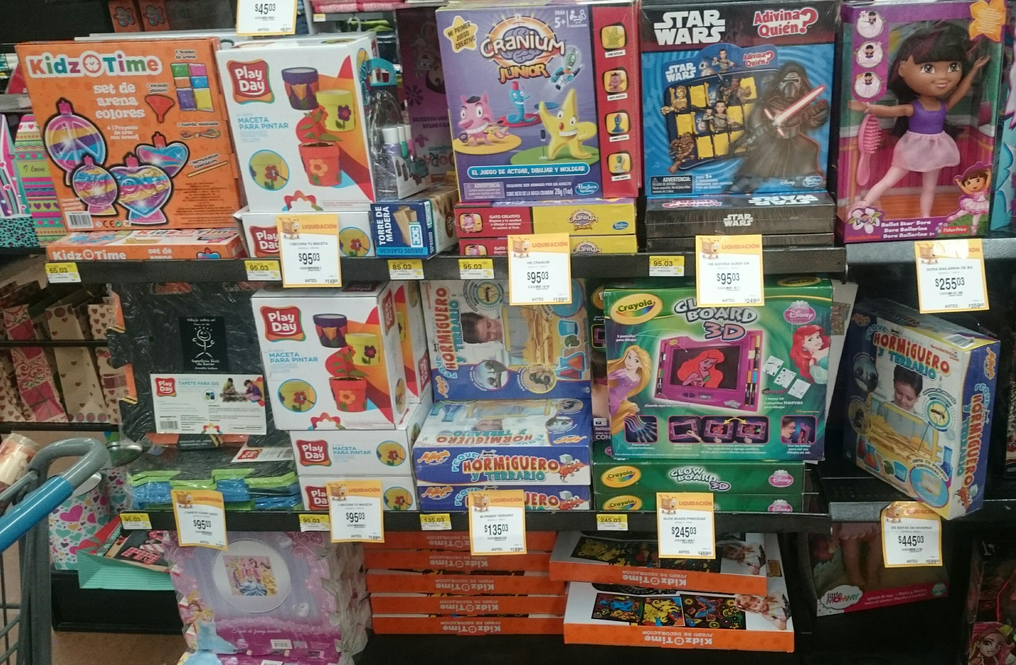 Walmart Tlaxcala: Adivina Quién Star Wars, Cranium Junior y otros descuentos desde $85.03