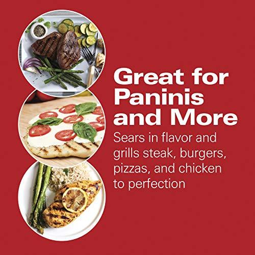 Amazon: Hamilton Beach 25462Z Prensa Gourmet para hacer Sandwich / Emparedados Panini en Amazon