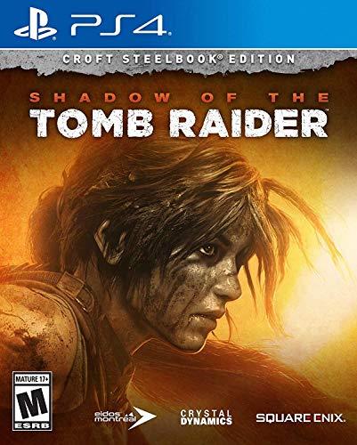 Amazon: Shadow of the Tomb Raider (Croft Steelbook Edition) - PlayStation 4