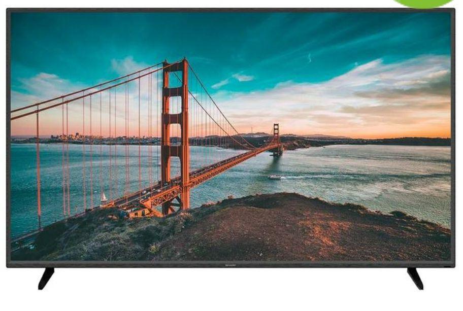 """Costco: Pantalla Sharp 60"""" Smart TV 4K UHD Android TV (PayPal+BBVA Wallet a 12MSI)"""