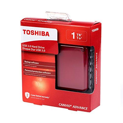 Amazon: Disco duro portátil Toshiba de 1TB