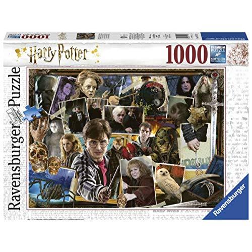 Amazon: Ravensburger Rompecabezas (1000 Piezas) Colage Harry Potter