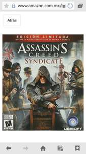 Amazon: Assassin's Creed: Syndicate, Limited Edition para Xbox One y PS4