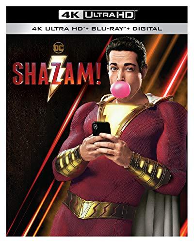 Amazon: Shazam! (4K Ultra HD + Blu-ray + Digital)