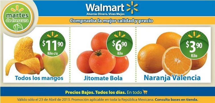 Martes de frescura en Walmart abril 23: jitomate bola $6.90 y más
