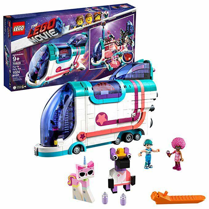 Amazon: Fiestabus Lego movie 2 Más de mil piezas!