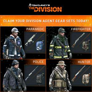 PC, Xbox One y Play 4: 4 Skins gratuitos para The Division