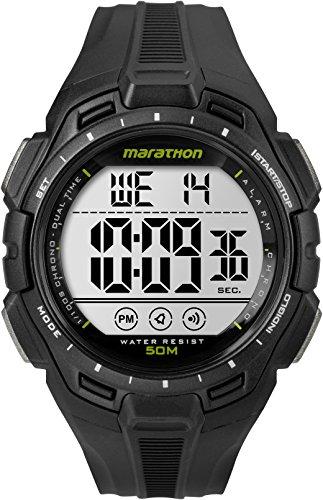 Amazon: Marathon by Timex reloj de tamaño completo, Negro, Negro, Mens Standard