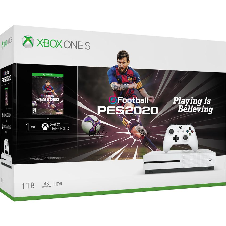 Walmart en línea: Xbox One S PES 2020