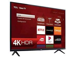 Amazon Mx: TCL Pantalla 55¨4K UHD Roku Smart TV 55S425-MX 2019