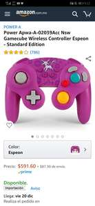 Amazon Control Switch Espeon GameCube Power A