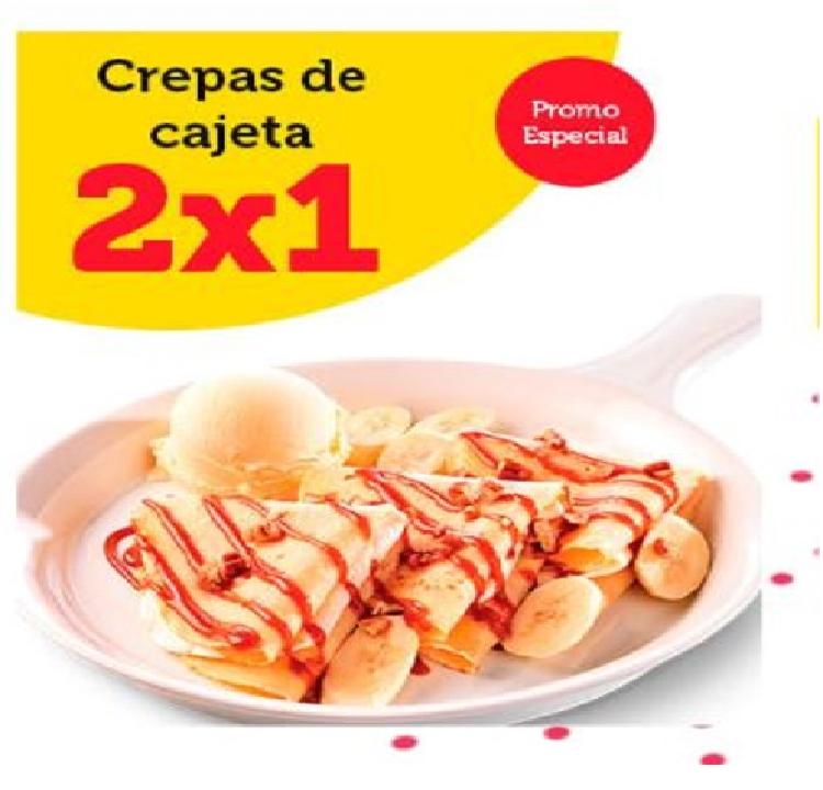 VIPS CUPONES DE DICIEMBRE: 2 x1 MOLLETES, CREPAS, CALDO TLALPEÑO. 15 PLATILLOS X $59 Y MAS
