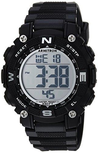 Amazon: Armitron Sport 45/7099 - Reloj de brazalete digital con cronógrafo y correa de resina para mujer