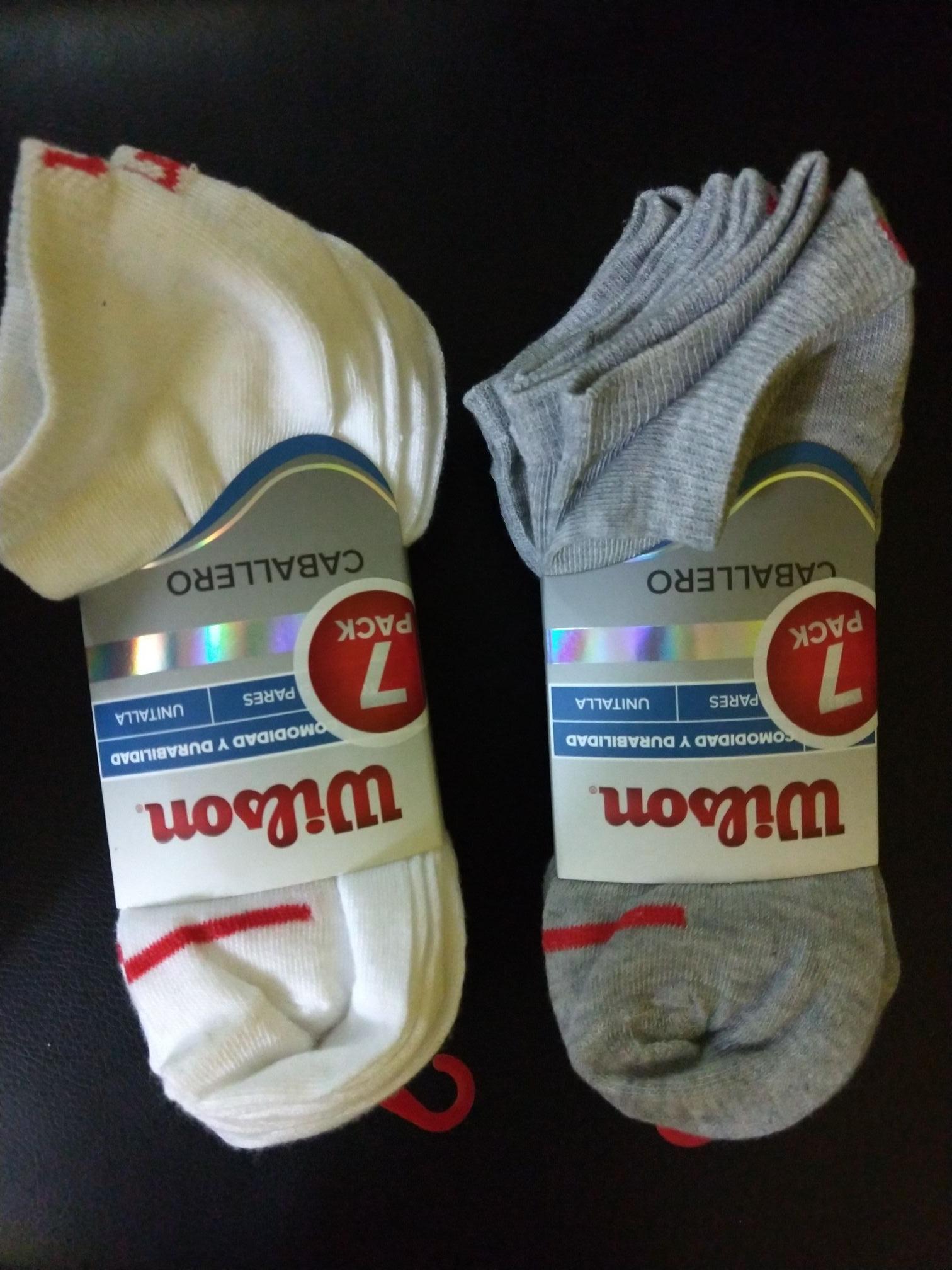 Walmart 7 pares calcetines hombre $30