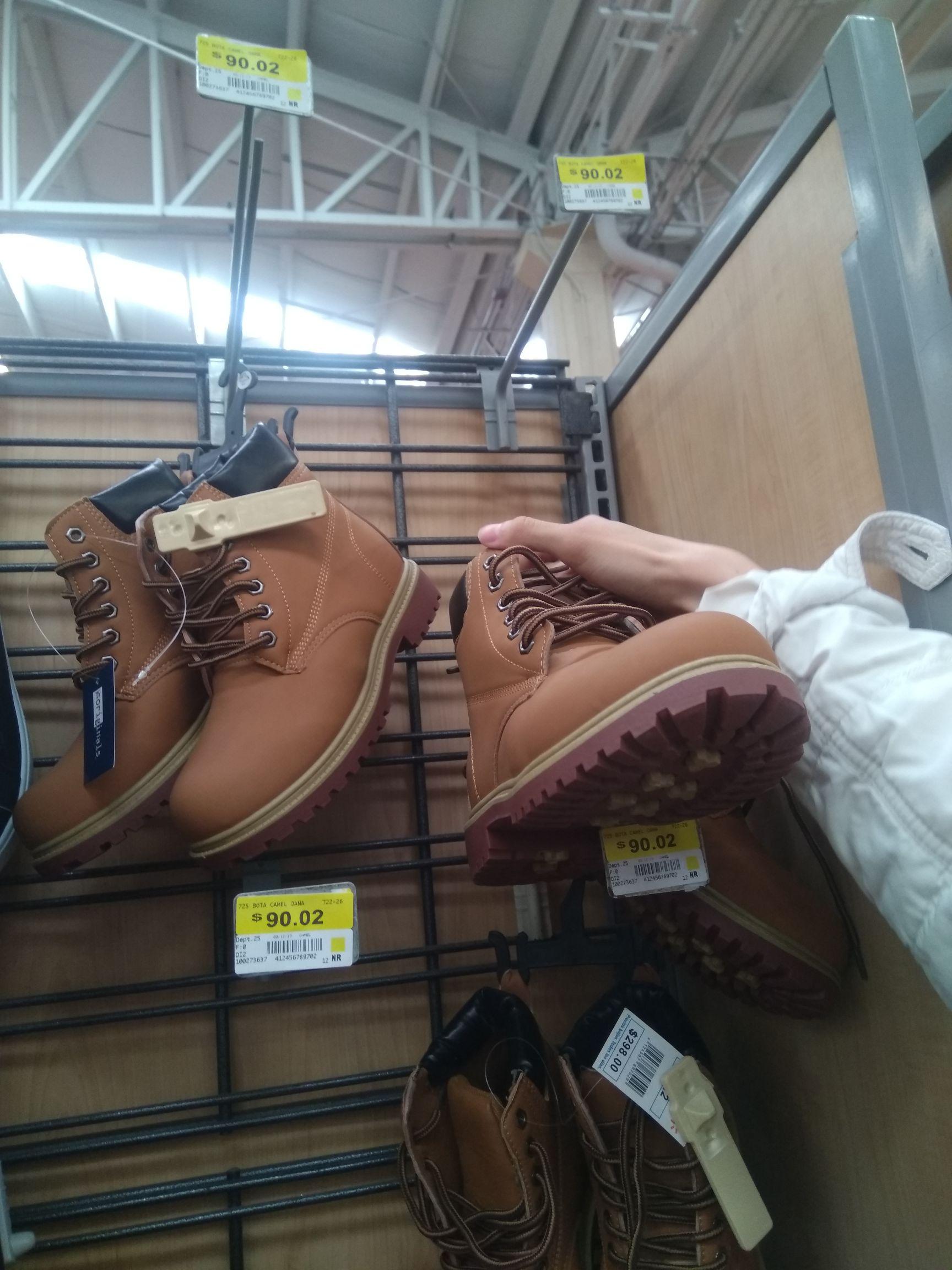 Walmart: Botas tipo Timberland