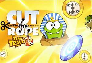 Cut the Rope Time Travel gratis en Google Play (y más juegos)
