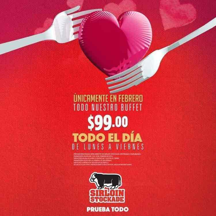 Sirloin Stockade DF: buffet a $99 todo el día