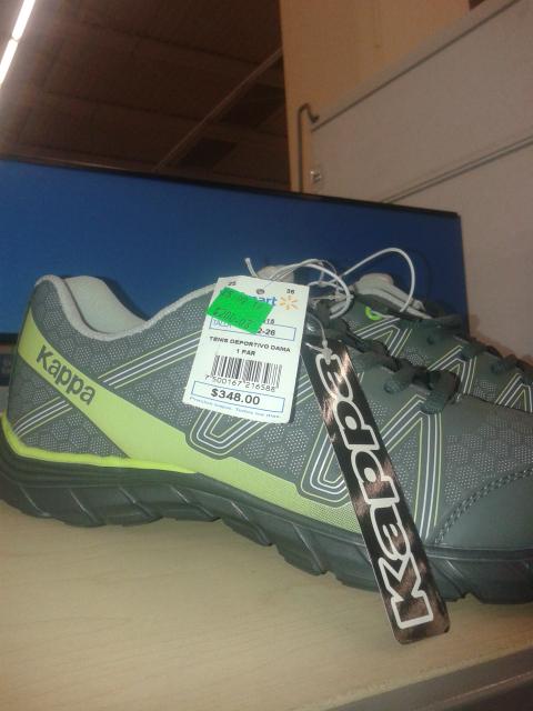 Walmart: tenis Kappa a $200.03