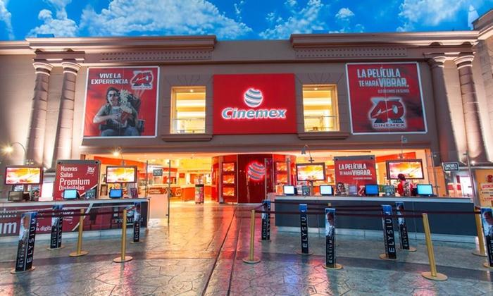 Groupon: sala tradicional a $44 o Platino a $85 en sucursal a elegir de Cinemex